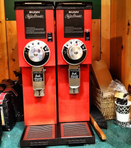 Bunn commercial coffee grinders