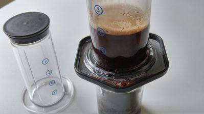Brewing Coffee with Aeropress