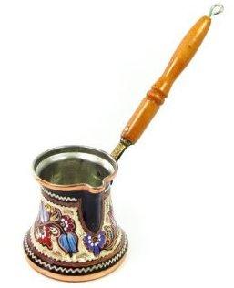 Turkish coffee ibrik