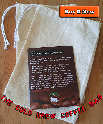 Cold Brew Coffee Bag